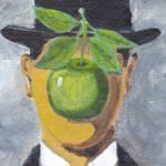 After Magritte's Son of Man - Featured Image