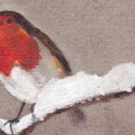 Robin on linen featured image