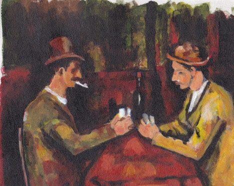 Cezanne's Card Players