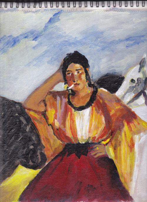 Manet's Gypsy