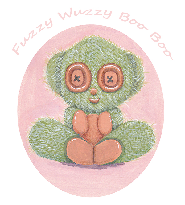 Fuzzy Wuzzy Boo Boo!