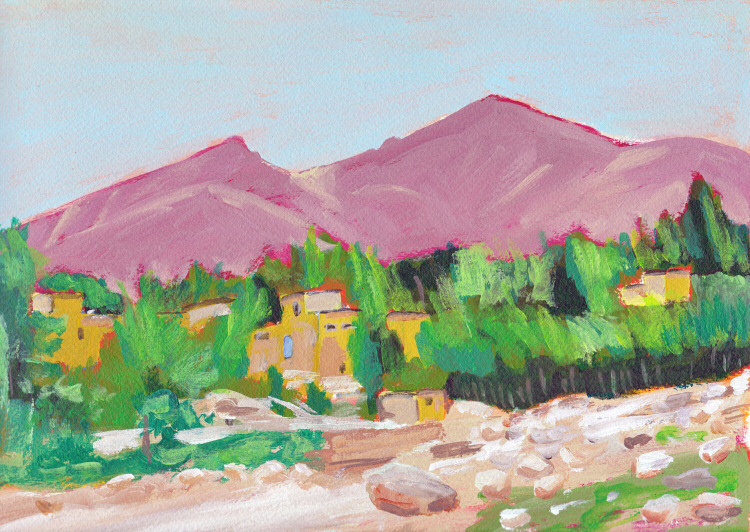 My Virtual Paintout – Afghanistan