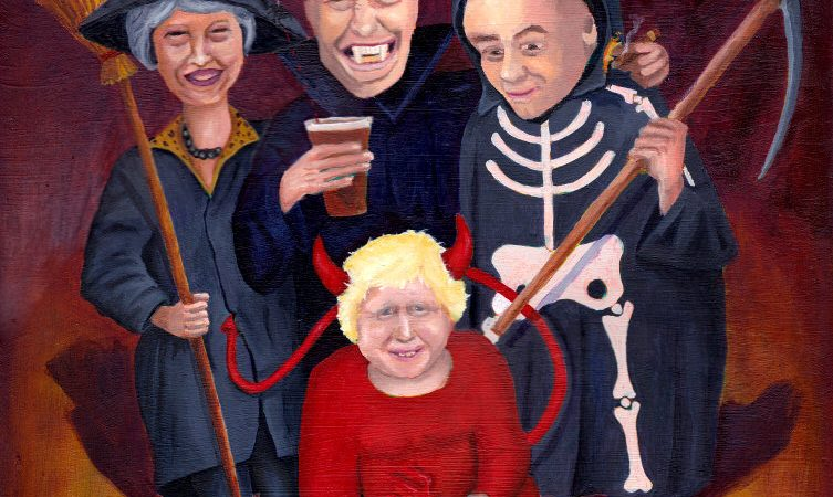 No Brexit Halloween
