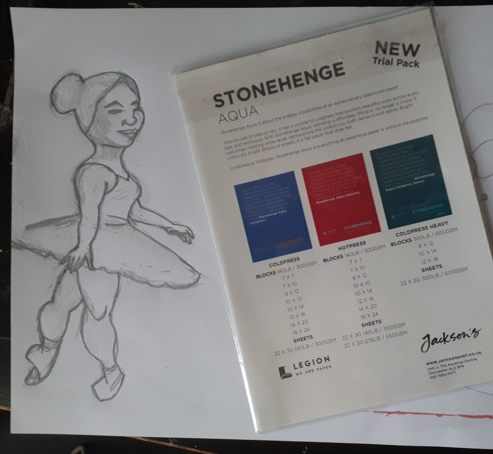Stonehenge Aqua Watercolour Paper