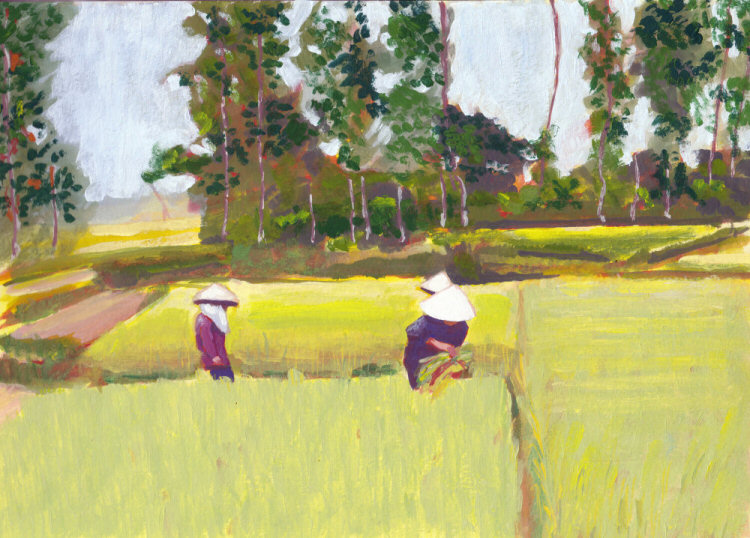 Vietnamese Paddy Workers
