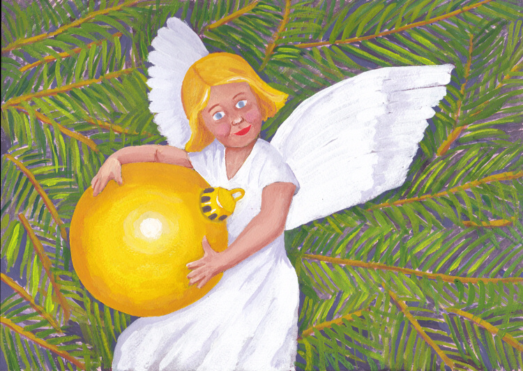 Xmas Angel Revisited