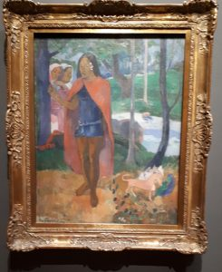 The Sorcerer of Hiva Oa - Painting by Paul Gauguin