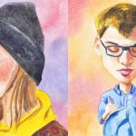Watercolour Caricatures