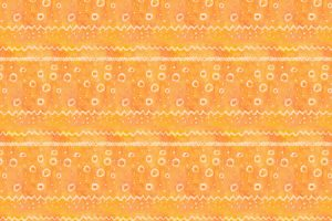 Orange Watercolour Pattern