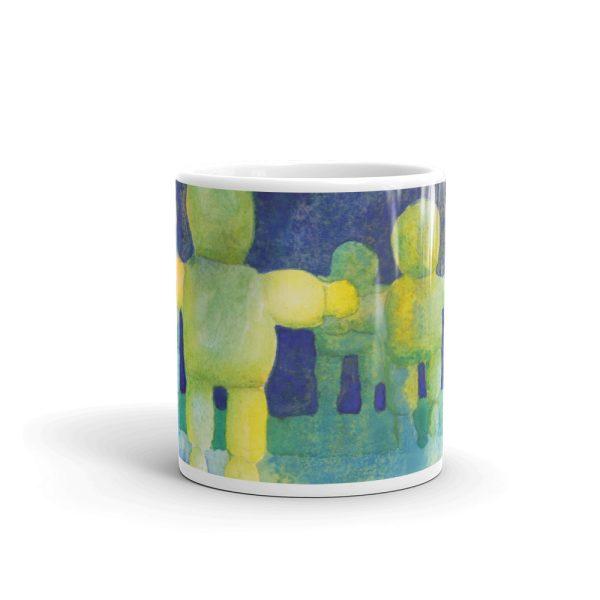 Arms Wide Watercolour Painting 11oz Ceramic Coffee Mug