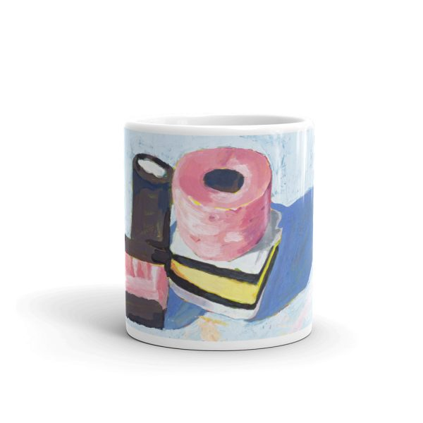 Liquorice Allsorts on Blue 11oz Ceramic Coffee Mug
