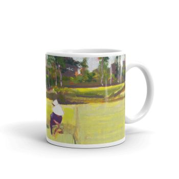 Vietnamese Paddy Workers in Field 11oz Ceramic Coffee Mug