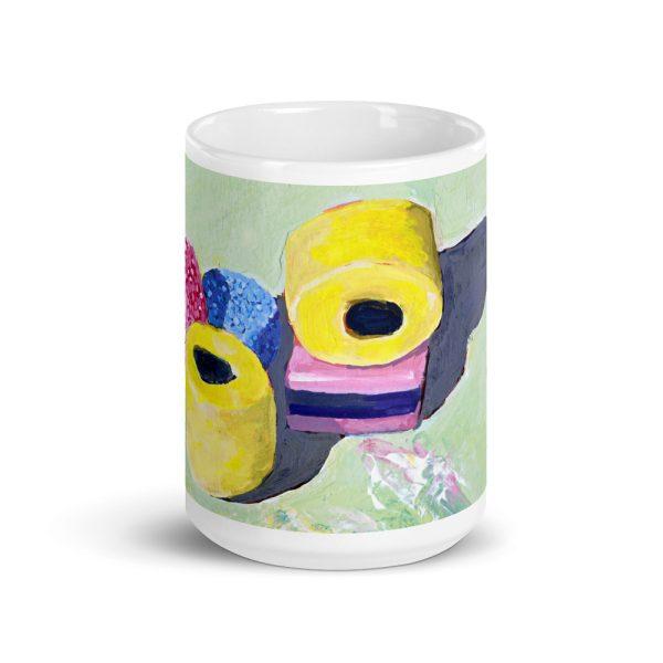 Liquorice Allsorts 15oz ceramic mug