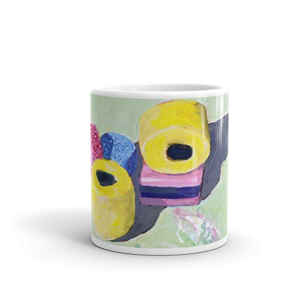 Liquorice Allsorts 11oz ceramic mug