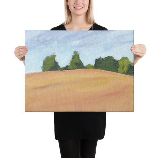 Kent Countryside Canvas Print for Home and Office Decor