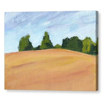 Kent Countryside Canvas Print for Home and Office Decor 12x16