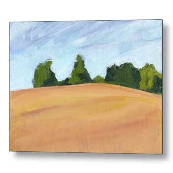 Kent Countryside Landscape 18 x 24 inches Metal Print Wall Art