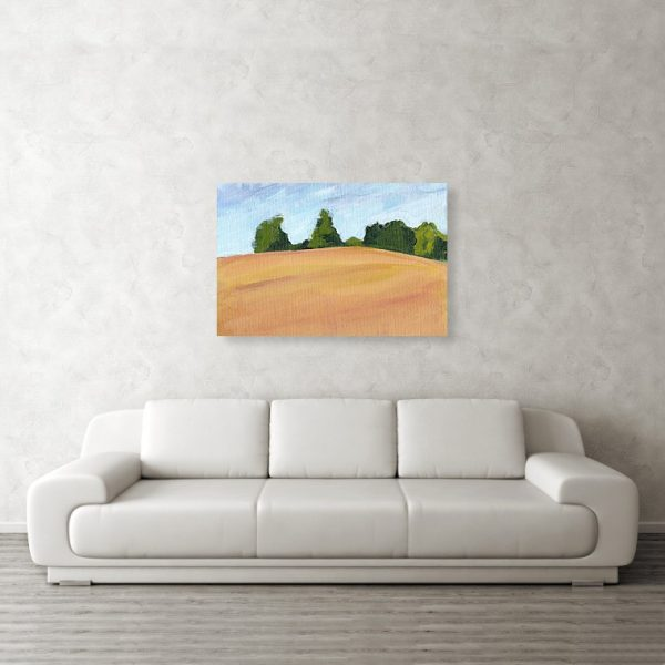Kent Countryside Landscape 24 x 36 inches Metal Print Wall Art
