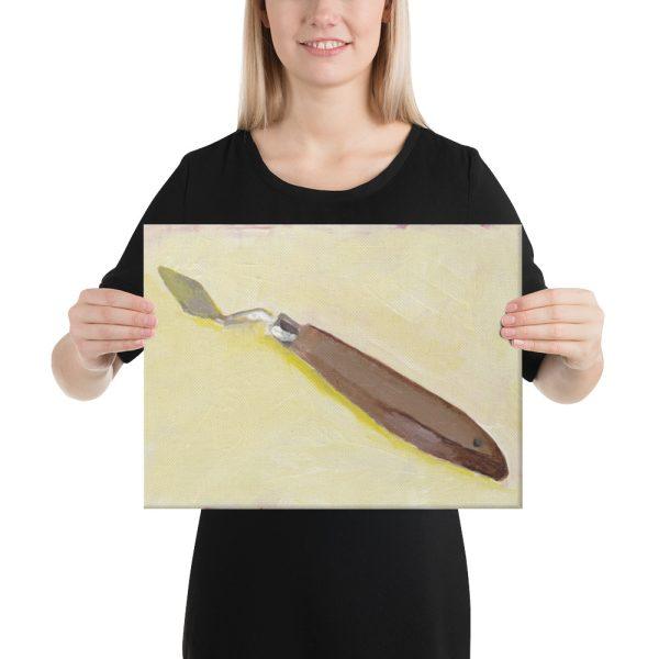 Palette Knife Still Life Canvas Print for Home Decor
