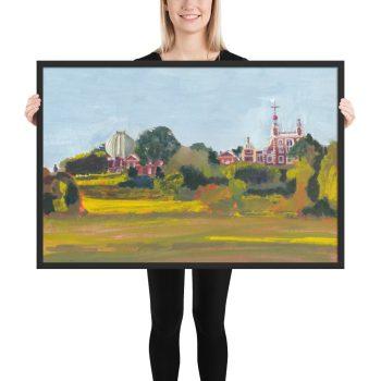 Royal Greenwich Observatory framed art print