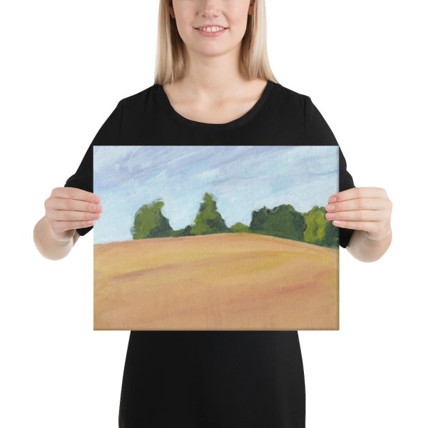 Kent Countryside Canvas Print Wall Art
