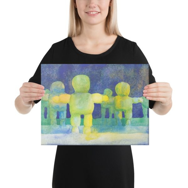 Arms Wide Canvas Print for Home Decor