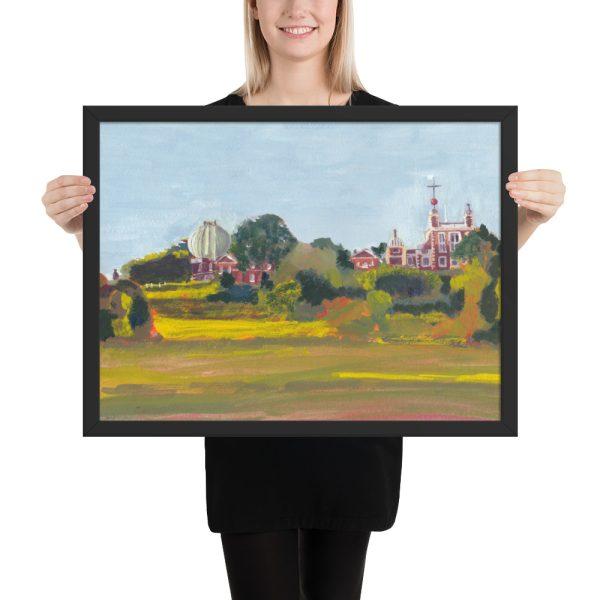 Greenwich Observatory framed art print