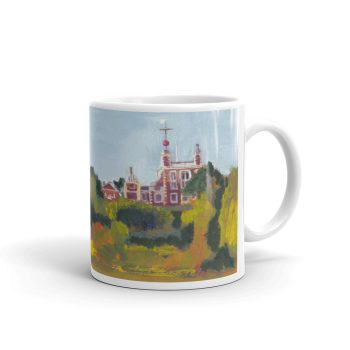Greenwich Observatory 11oz ceramic coffee mug