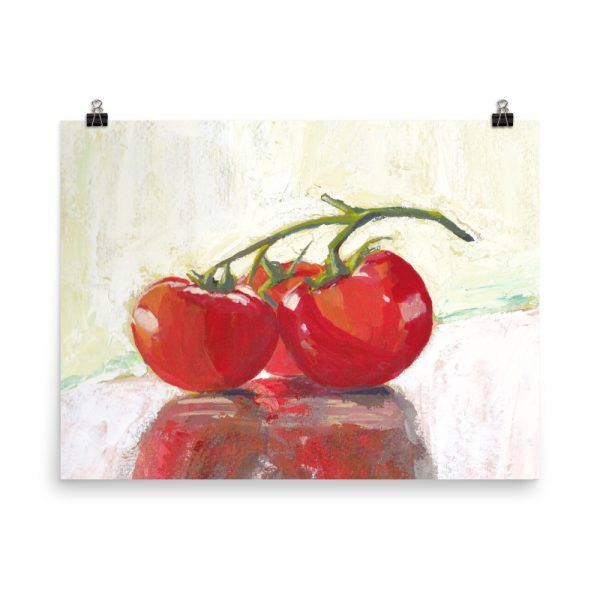 Three Tomatoes Poster