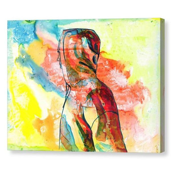 Over There Canvas Print Wall Art 12x16