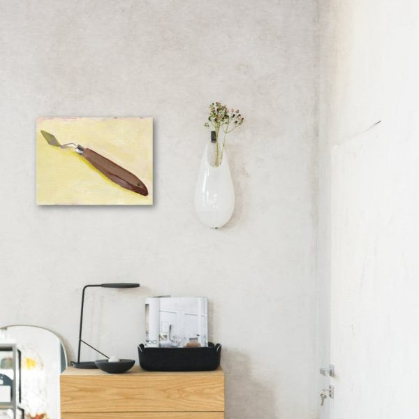 Palette Knife Canvas Print Wall Art