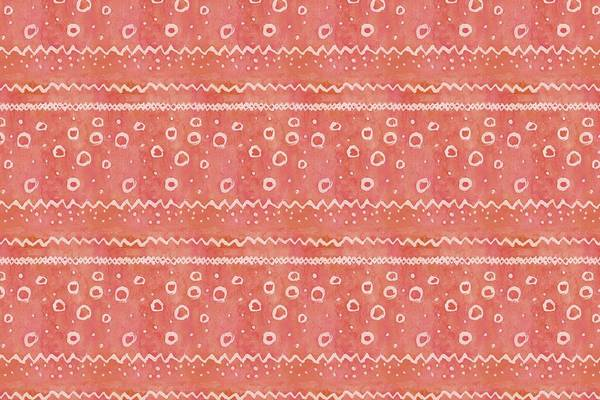 Red Textured Watercolour Pattern