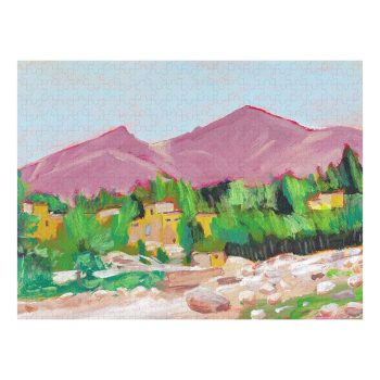 Afghan Oasis Jigsaw Puzzle 500