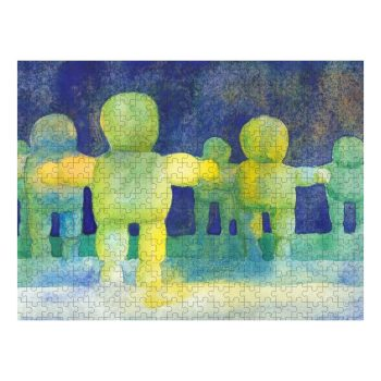Arms Wide Jigsaw Puzzle 500