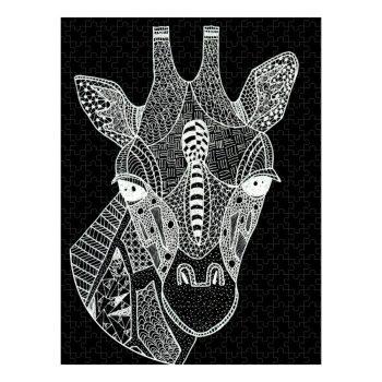 Giraffe Head Jigsaw Puzzle 500