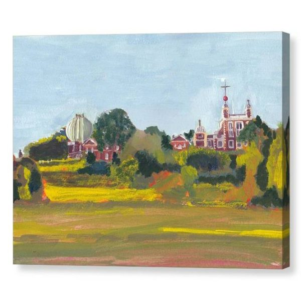 Greenwich Observatory Canvas Print 12 x16 inches Wall Art
