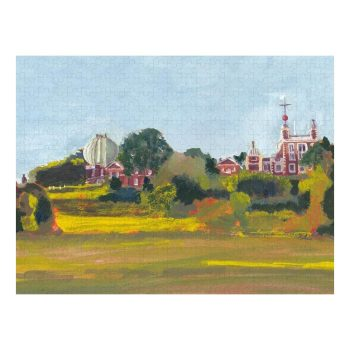 Greenwich Observatory Jigsaw Puzzle 500