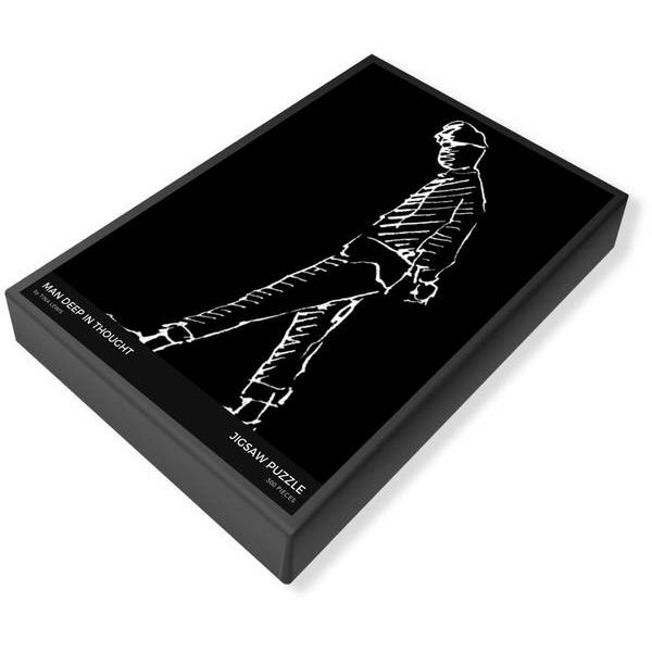 Thinking Man Jigsaw Puzzle Box