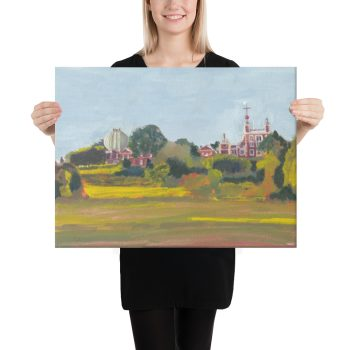 Greenwich Observatory Canvas Print 18 x24 inches Wall Art