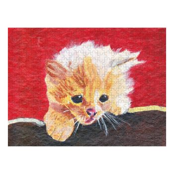 Naughty Kitten Jigsaw Puzzle 500