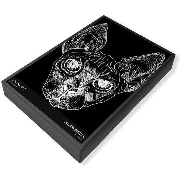 Sphynx Cat Jigsaw Puzzle Box
