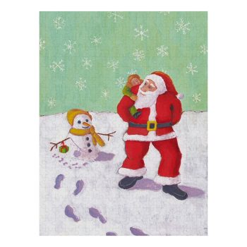 The Snowman's Present Jigsaw Puzzle 500