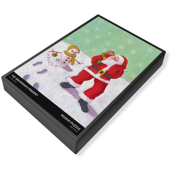 The Snowman's Present Jigsaw Puzzle Box