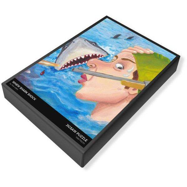 Whew Shark Shock Jigsaw Puzzle Box