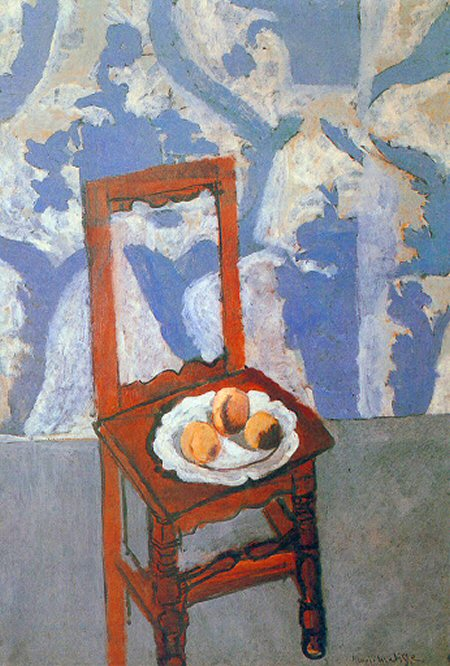 Chair with Peaches by Matisse