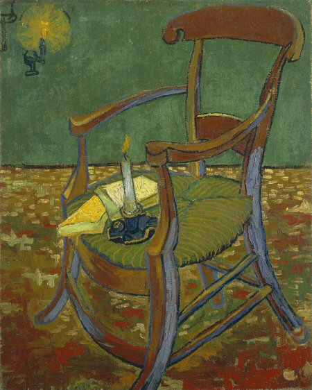 Gaugin's Chair by Vincent Van Gogh