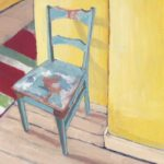 Featured Image for Teal Chair Still Life Painting