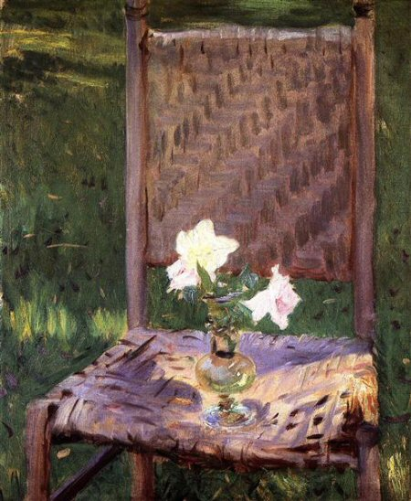 The Old Chair by Sargent