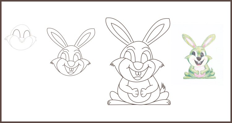 How to Draw a Bunny Step by Step