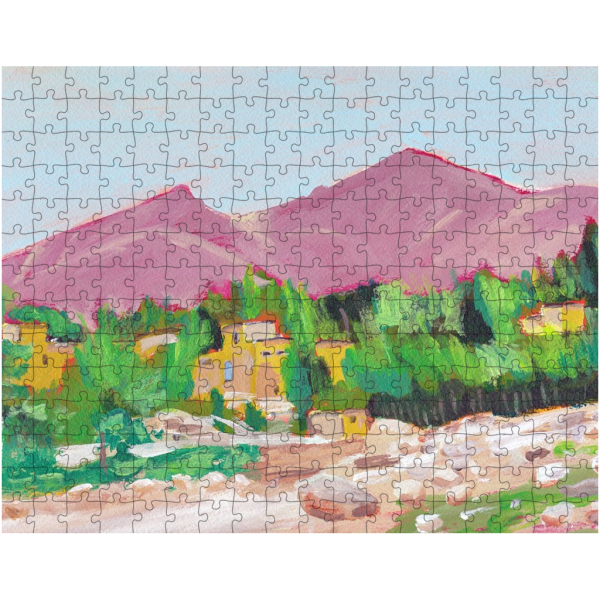 Afghan Oasis 252 Piece Jigsaw Puzzle